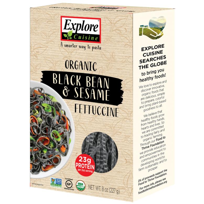 Pasta de Poroto Negro y Sésamo Explore Cuisine