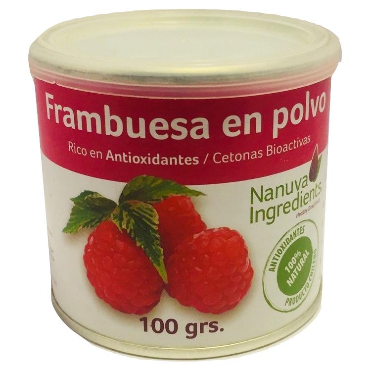 Frambuesa en Polvo Nanuva