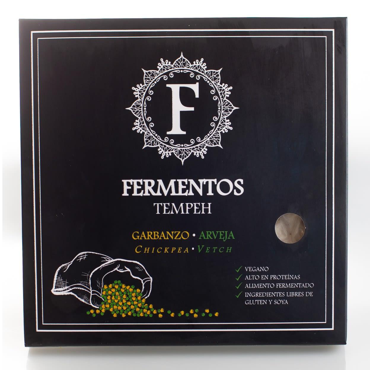 Tempeh Garbanzo y Arveja