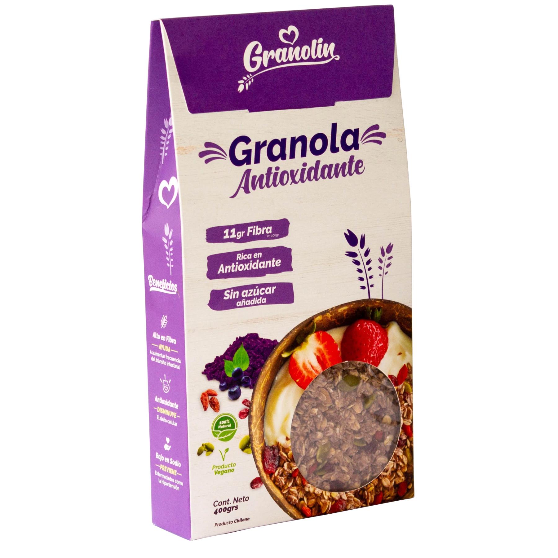 Granola Antioxidante Granolin
