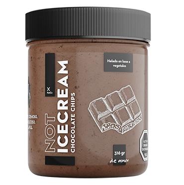 Helado Chocolate Chips Not Ice Cream