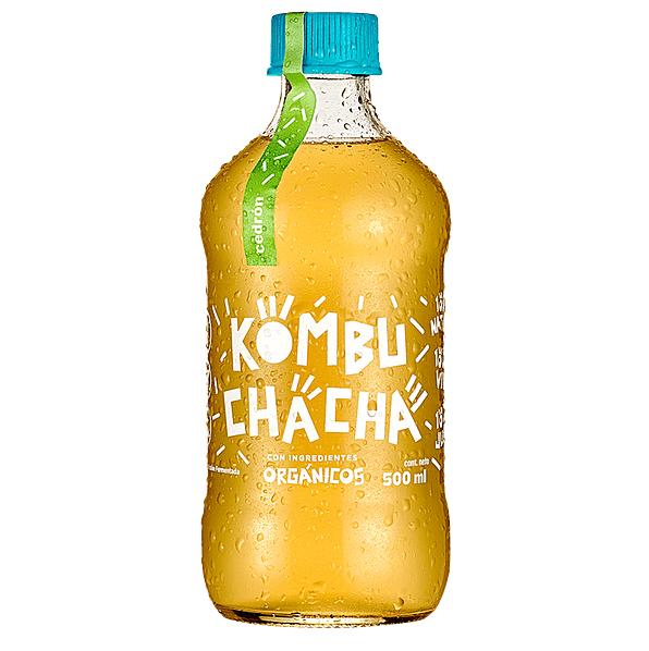 Kombucha Cedrón, Kombuchacha