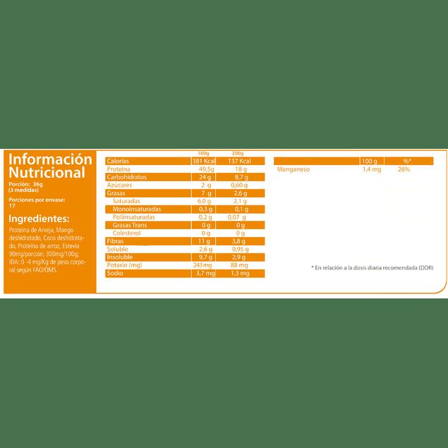 Proteina Veggi Pro Mango Aquasolar