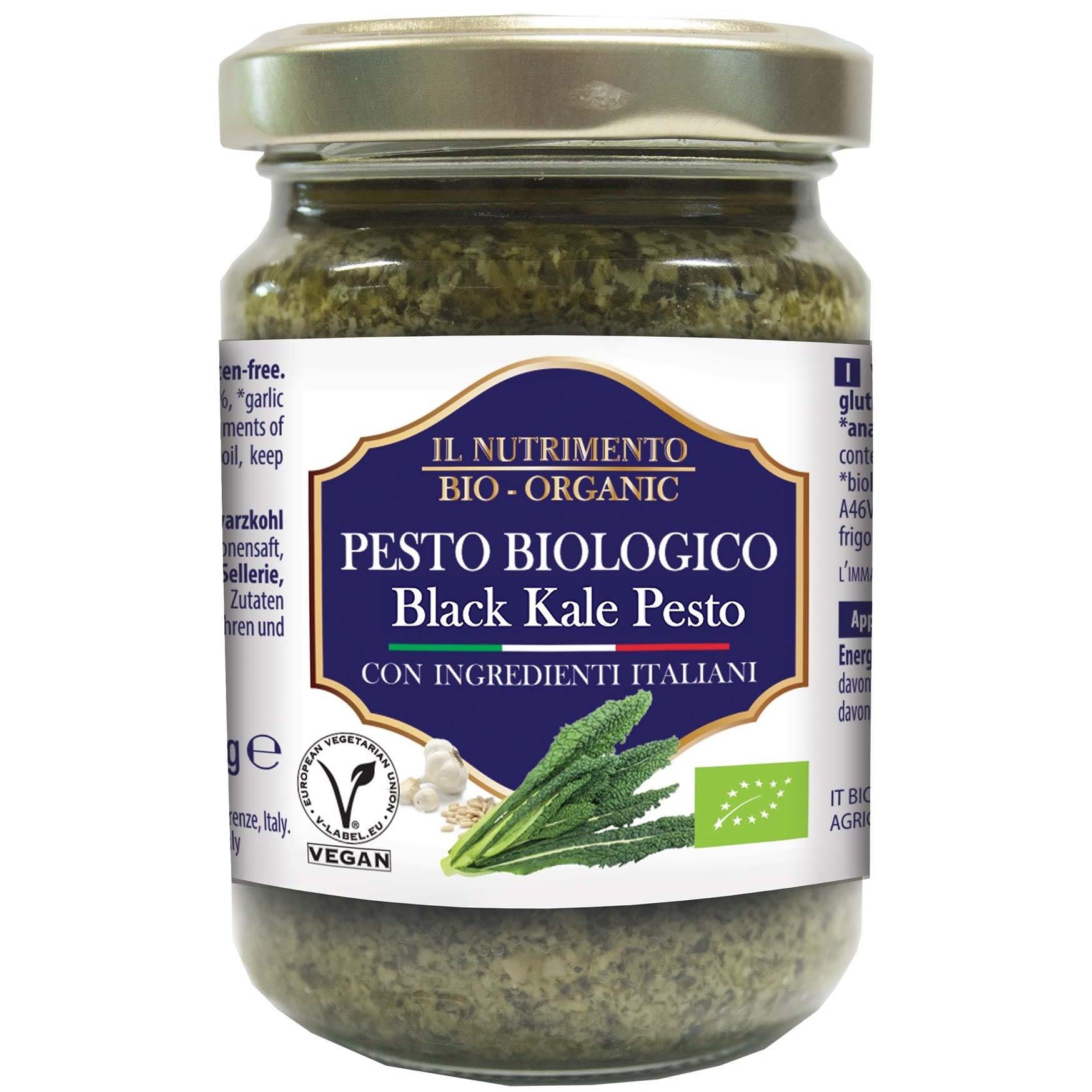 Pesto de Kale Negro y Piñones, Il Nutrimento
