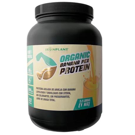 Proteina de Arveja Banana Iron Plant