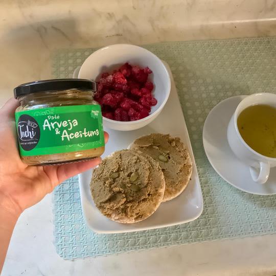 Paté Arvejas & Aceitunas Tuchi