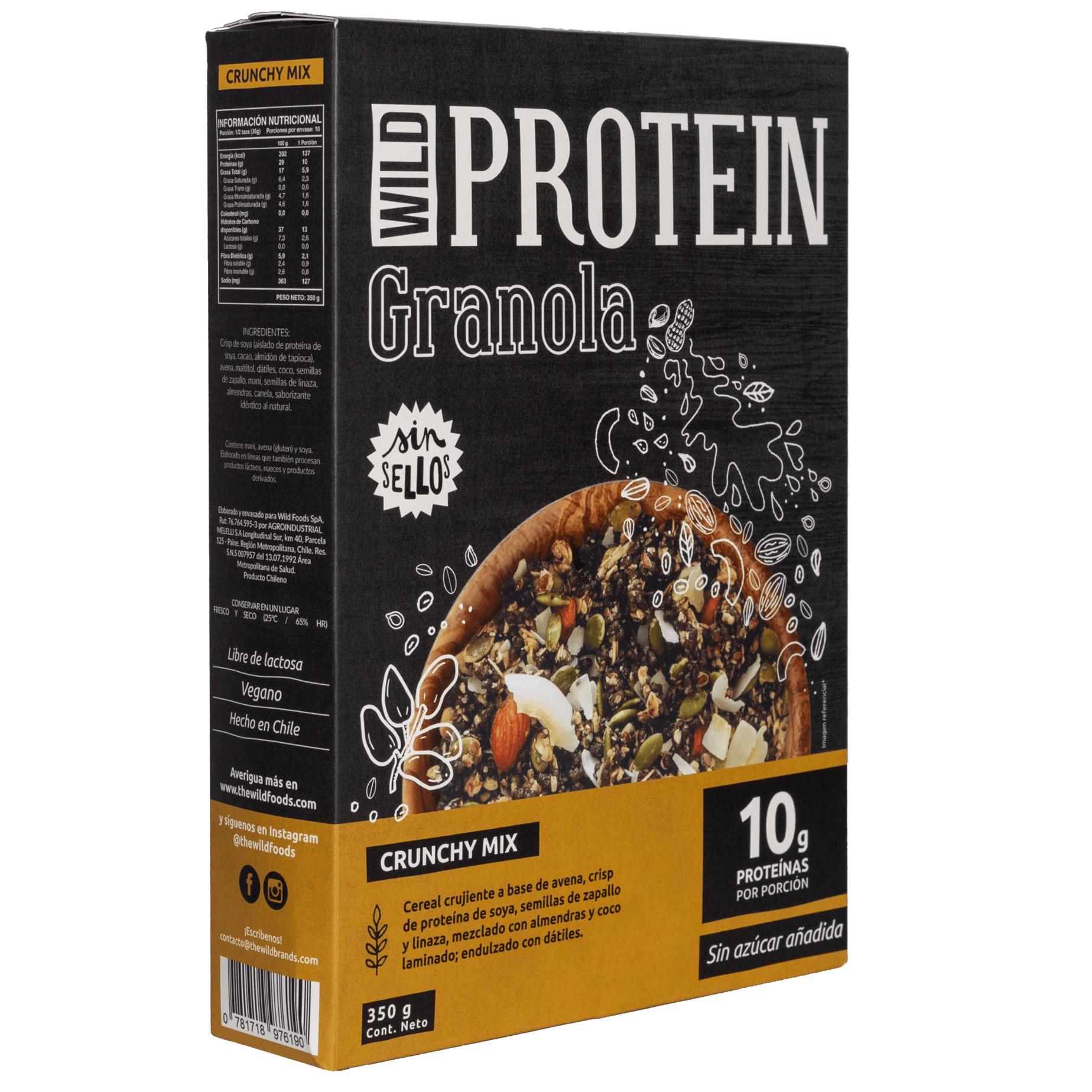 Granola Wild Protein