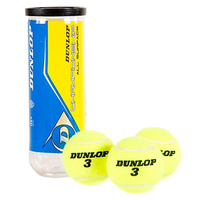 Tarro de Pelotas de Tenis Dunlop Championship