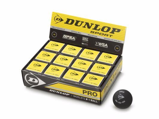 Pelota Squash Pro Doble Punto Amarillo