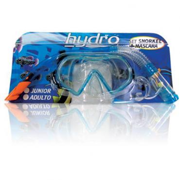 Set Snorkel y Máscara Hydro Adulto