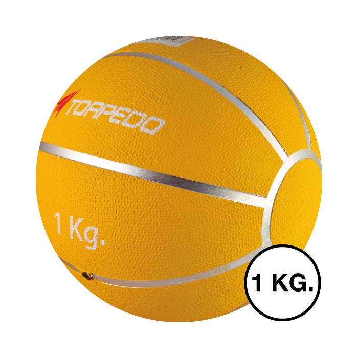 Balón Medicinal Torpedo Goma con Bote