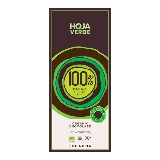 Chocolate organico 100% Cacao ecuatoriano