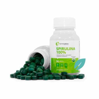 Espirulina Natural en 90 o 180 tabletas