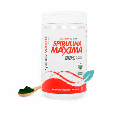 Tarro Espirulina maxima 500 grs
