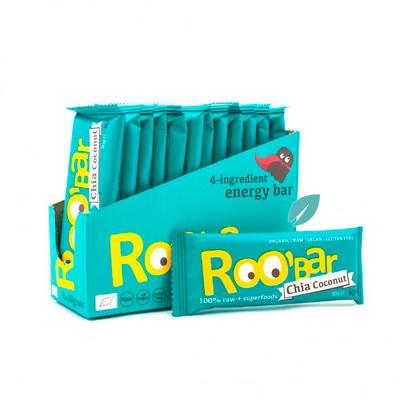 Barra Organica Roobar Chia & Coconut 30 grs