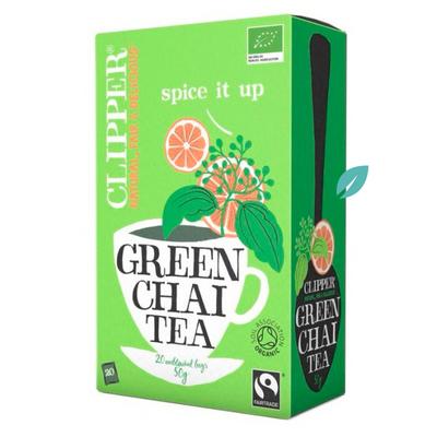Infusión Green tea Chai Organico 20 sobres