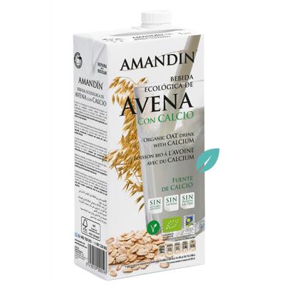 Bebida organica avena  (leche de avenal) 1 litro