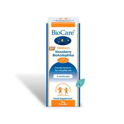 Bioacidophilus de Frutilla Probiotico polvo 60 grs