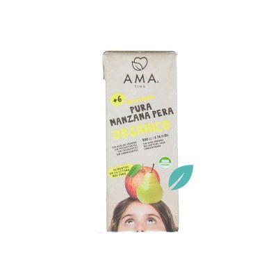 Jugo de frutas organico manzana Pera 200 cc