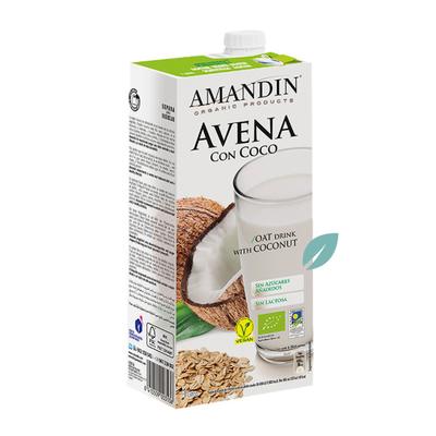 Bebida Orgánica Avena Coco (leche vegetal) 1 litro