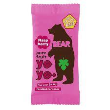 Rollos de frutas Frambuesa Bear Yoyo