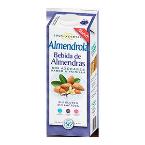 Bebida de Almendras con Vainilla Sin azucar