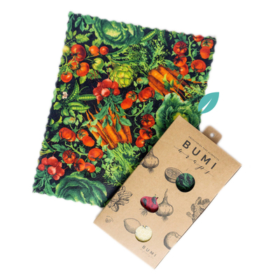 Envoltorios para alimentos Bumi Wraps (3 unidades)