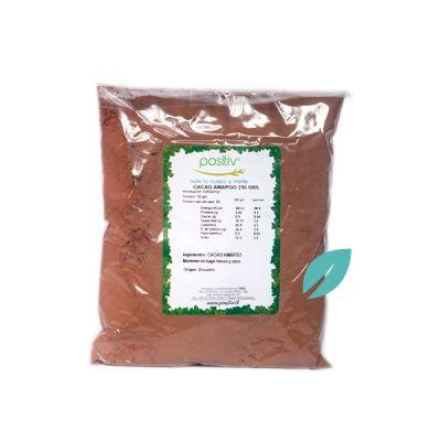 Cacao Amargo en Polvo 250 grs