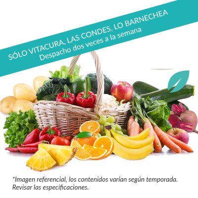 Canasta Frutas y Verduras 3-4 personas con despacho gratis*