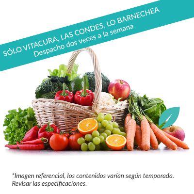 Canasta Frutas y Verduras 2-3 personas con despacho gratis*