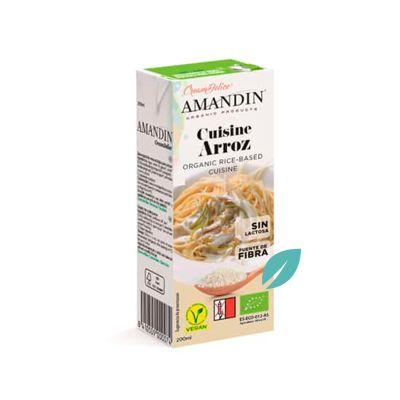 Crema Orgánica de Arroz 200 ml
