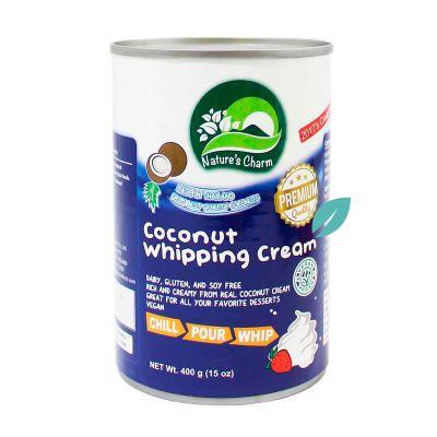Crema para batir de coco 400 ml