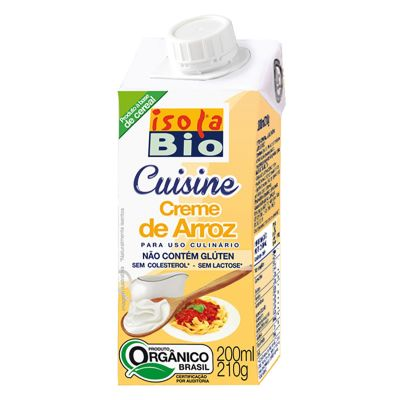 Crema de Arroz Orgánica 200 ml