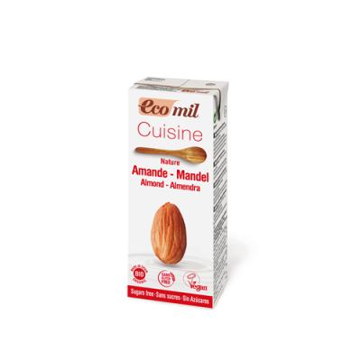 Crema de Almendra Sin Azúcar Orgánica 200 ml