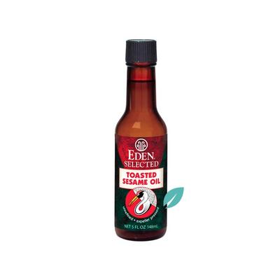 Aceite de sesamo tostado organico 148 ml