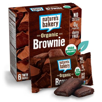 Barra saludable Brownie doble Chocolate Fig Bar
