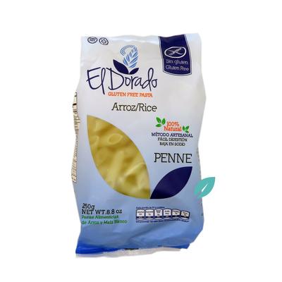Pasta Penne sin gluten de arroz