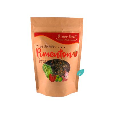 Chips de Kale Pimenton 25 grs