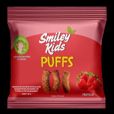 Puffs Frutilla Smileykids