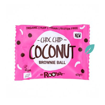 Brownie Organico Coconut Chip Chocolate