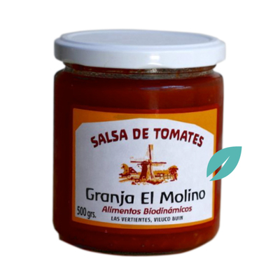 Salsa de tomate organica