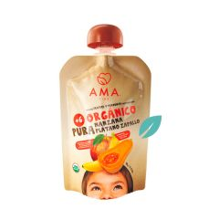 Pure de frutas organico Manzana Platano Zapallo