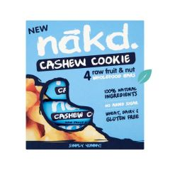 Pack 4 Barritas Nakd Cashew Cookies