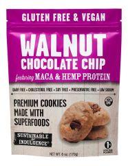 Galletas Superalimentos de Chocolate, Nuez, Maca y Proteina de Cañamo