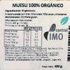 Muesli Organico Chocolate Manzana 400 grs 2