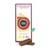 Chocolate organico 58% Cacao ecuatoriano mas Quinoa
