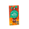 Barra de Chocolate Sin gluten Sin leche 70% Cacao Organico Manare
