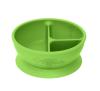 Bowl Divisorio y Adherente de Silicona Verde