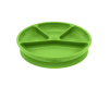 Plato Divisorio y Adherente de Silicona Verde