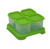 Envases de Plastico 120 ml Verde 4 unidades